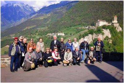 gita a castel Tirolo